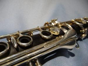 Clampon R-13SP 同じく下管のリングキーやサイドキー